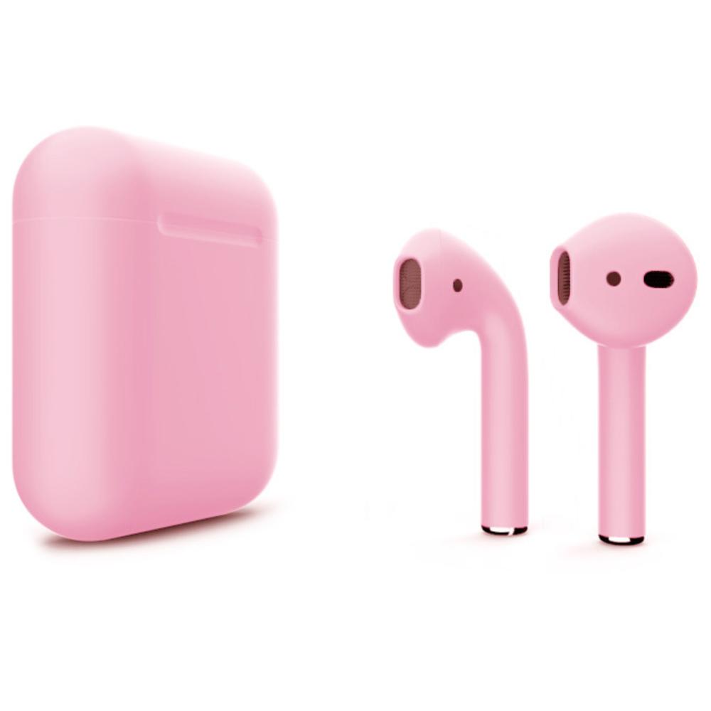 Беспроводные наушники Apple AirPods 2 Color (без беспроводной зарядки чехла) Light Pink Matte