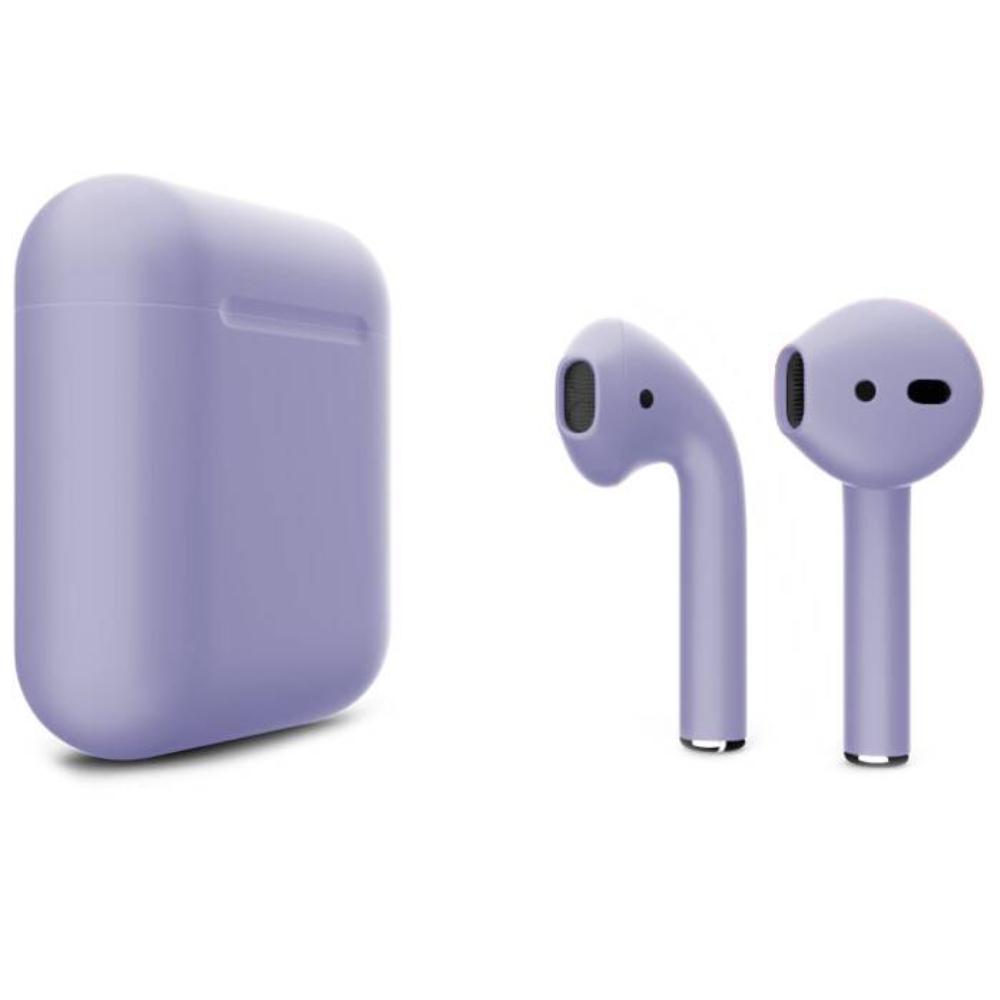 Беспроводные наушники Apple AirPods 2 Color (без беспроводной зарядки чехла) Lavender Matte