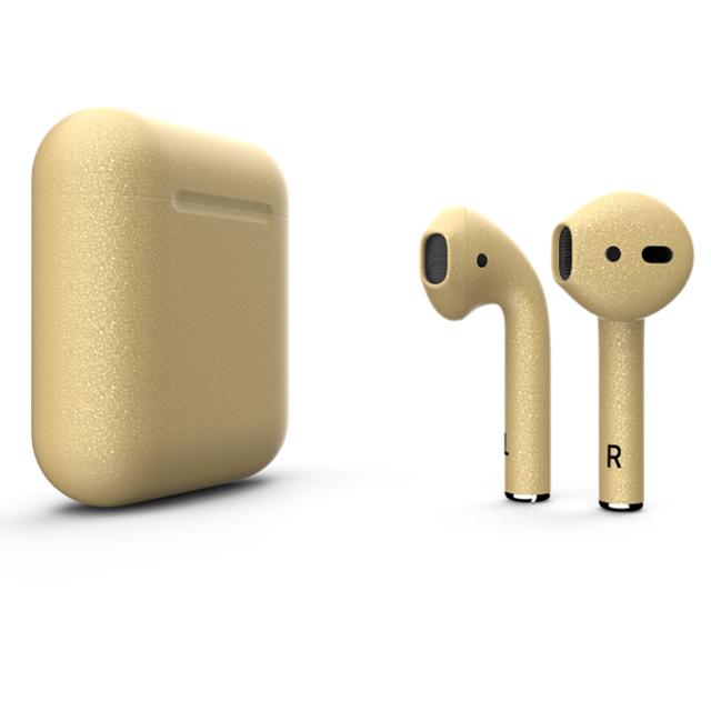 Беспроводные наушники Apple AirPods 2 Color (без беспроводной зарядки чехла) Gold Matte