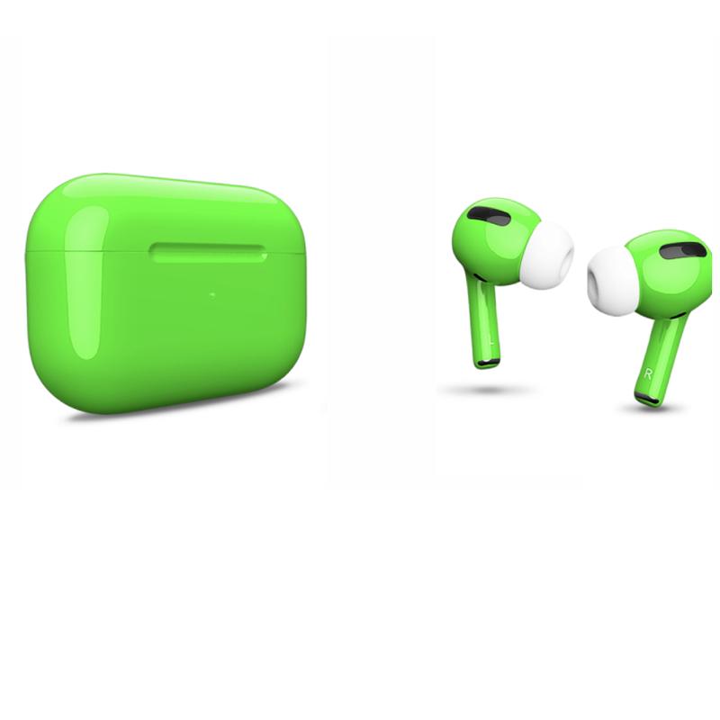 Беспроводные наушники Apple AirPods Pro Color Green Glossy