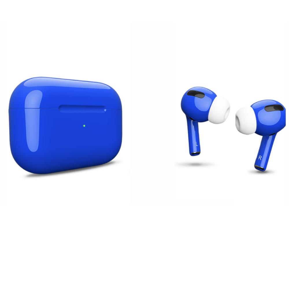 Беспроводные наушники Apple AirPods Pro Color Blue Glossy