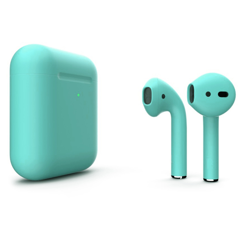 Беспроводные наушники Apple AirPods 2 Color (беспроводная зарядка чехла) Turquoise Matte