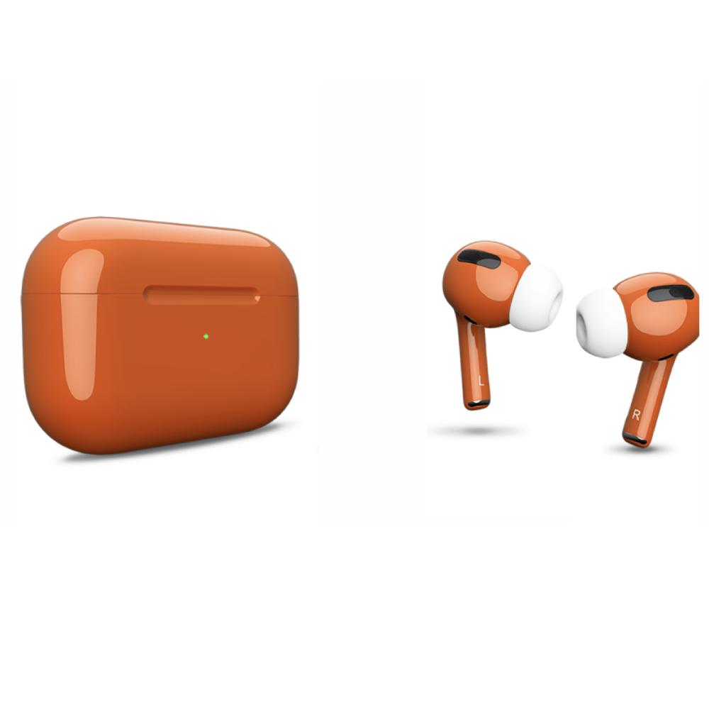 Беспроводные наушники Apple AirPods Pro Color Orange Glossy