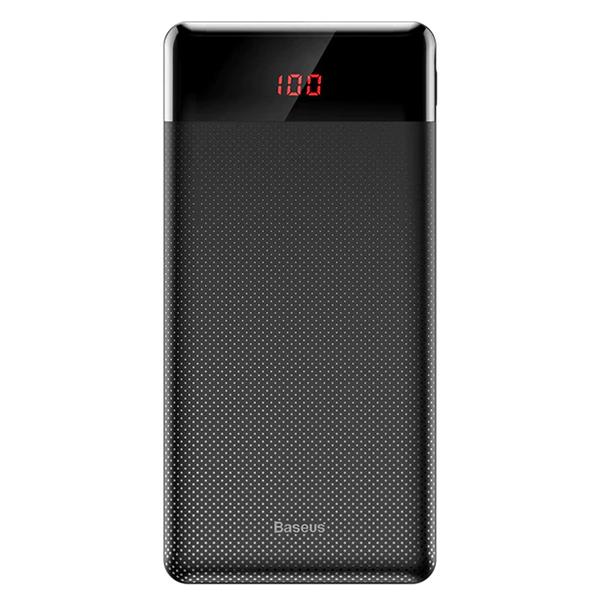 Внешний аккумулятор с дисплеем Baseus Mini Cu чёрный 10000 mAh