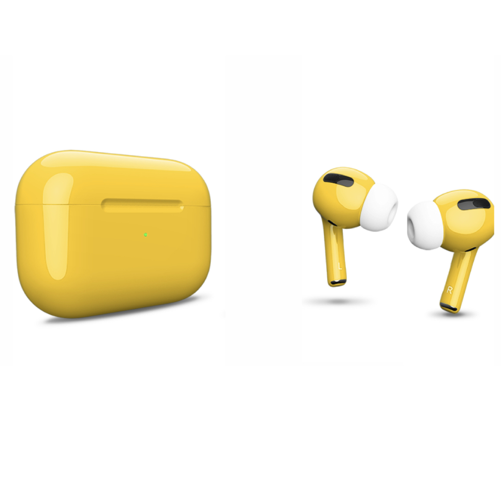 Беспроводные наушники Apple AirPods Pro Color Yellow Glossy