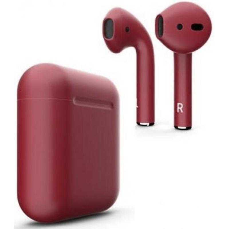Беспроводные наушники Apple AirPods 2 Color (без беспроводной зарядки чехла) Cherry Matte