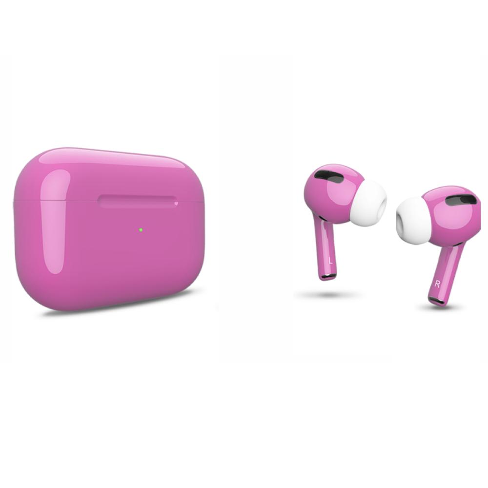 Беспроводные наушники Apple AirPods Pro Color Pink Glossy