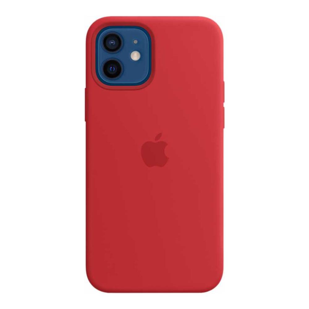 Силиконовый чехол Apple MagSafe для iPhone 12/12 Pro 2020 (PRODUCT)RED