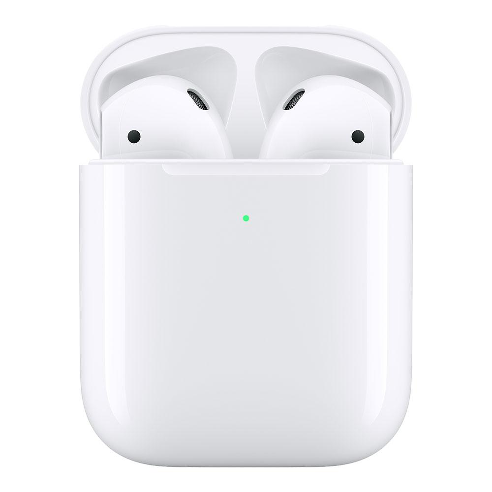 Беспроводные наушники Apple AirPods 2 Wireless Charging Case (беспроводная зарядка чехла)