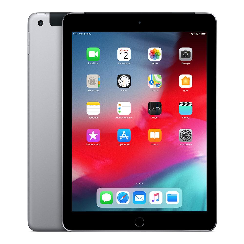 Apple iPad (2018) Wi-Fi + Cellular 128Gb Space Gray