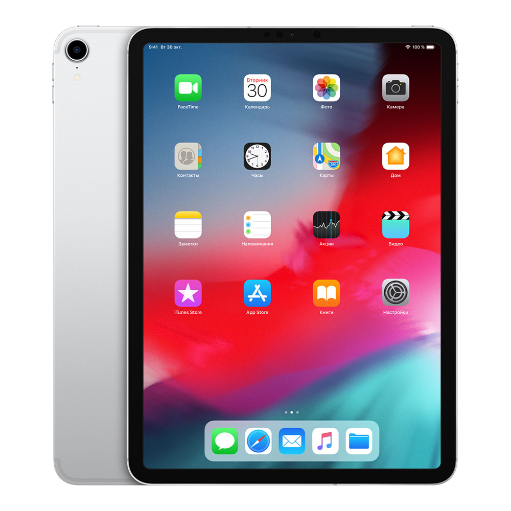 "Apple iPad Pro 11"" (2018) Wi-Fi + Cellular 256Gb Silver"