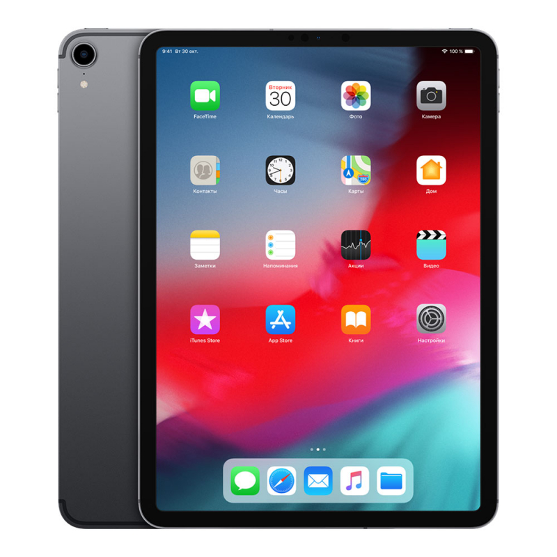 "Apple iPad Pro 11"" (2018) Wi-Fi + Cellular 256Gb Space Gray"