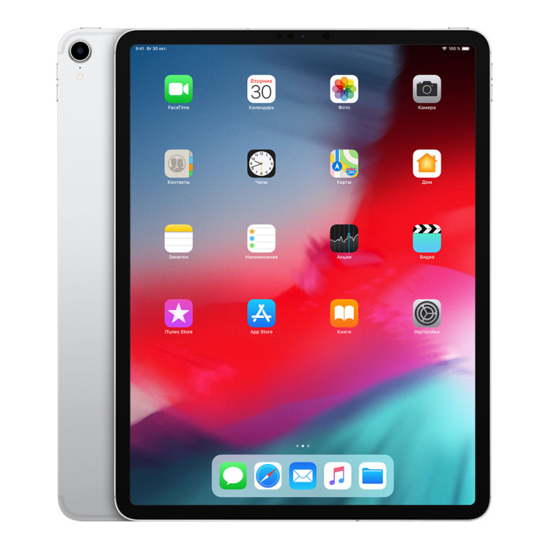 "Apple iPad Pro 12,9"" (2018) Wi-Fi + Cellular 512Gb Silver"