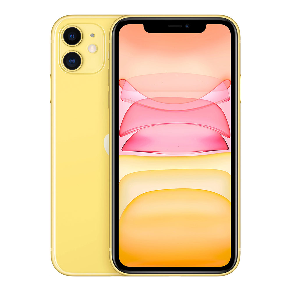 Apple iPhone 11 256Gb Yellow Slimbox (MHDT3)