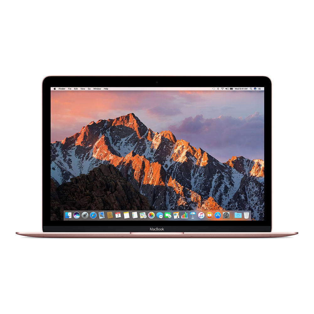 "Apple MacBook 12"" (2017) Core m3 1,2 ГГц, 8 Гб, 256 Гб Flash, HD 615 Rose Gold MNYM2"