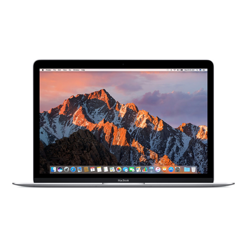 "Apple MacBook 12"" (2017) Core m3 1,2 ГГц, 8 Гб, 256 Гб Flash, HD 615 Silver MNYH2"