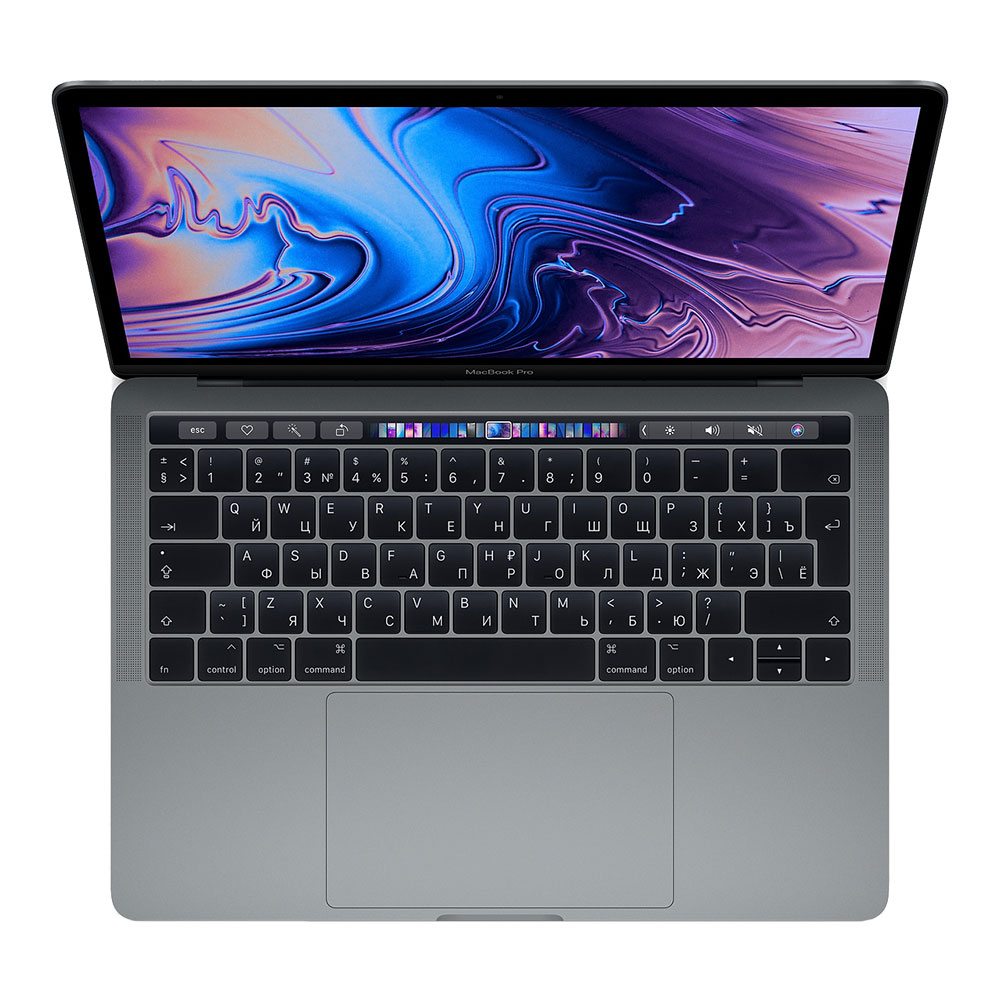 "Apple MacBook Pro 13"" (2019) Core i5 2,4 ГГц, 8 Гб, 512 Гб SSD, Iris Plus 655, Touch Bar Space Gray MV972"