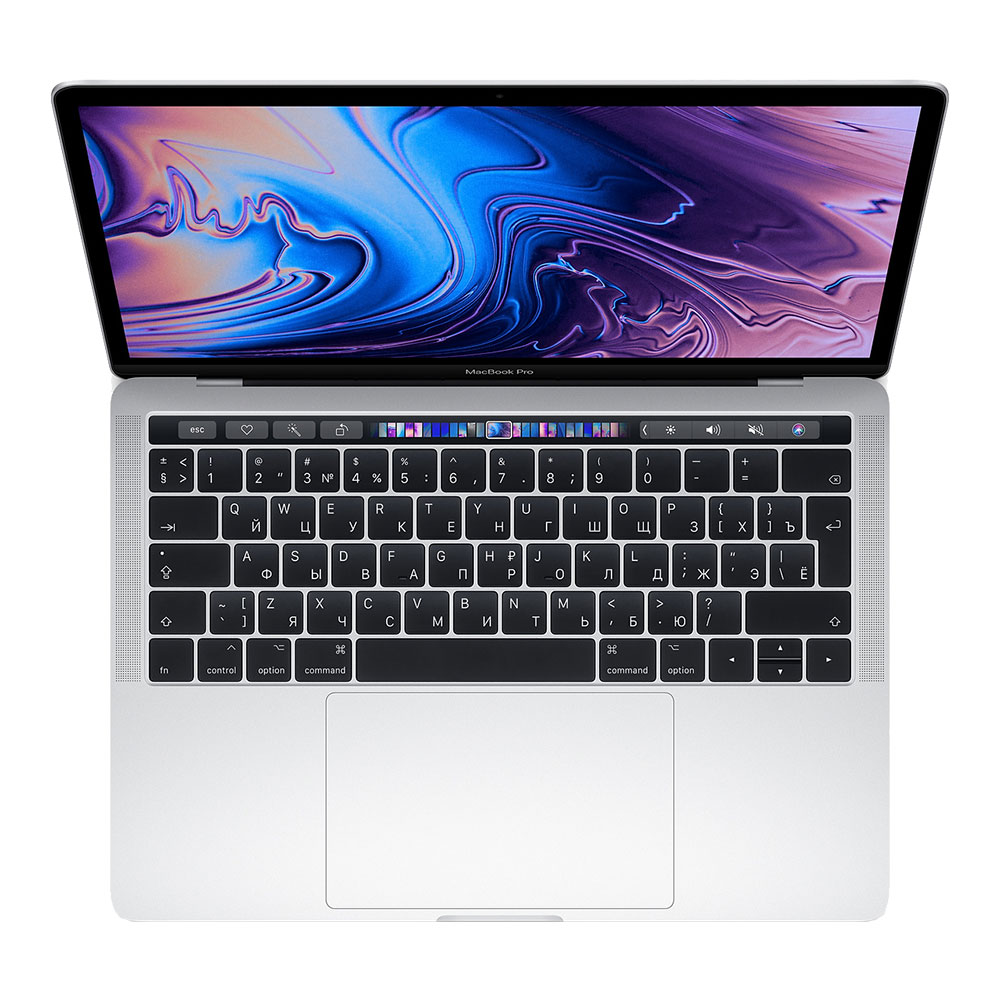 "Apple MacBook Pro 13"" (2019) Quad-Core i5 1,4 ГГц, 8 ГБ, 256 ГБ SSD, Iris 645, Touch Bar Silver MUHR2"