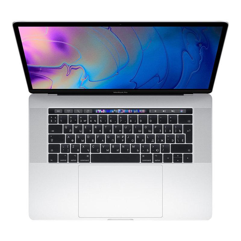 "Apple MacBook Pro 15"" (2019) Core i7 2,6 ГГц, 16 Гб, 256 Гб SSD, Radeon Pro 555X, Touch Bar Silver MV922"