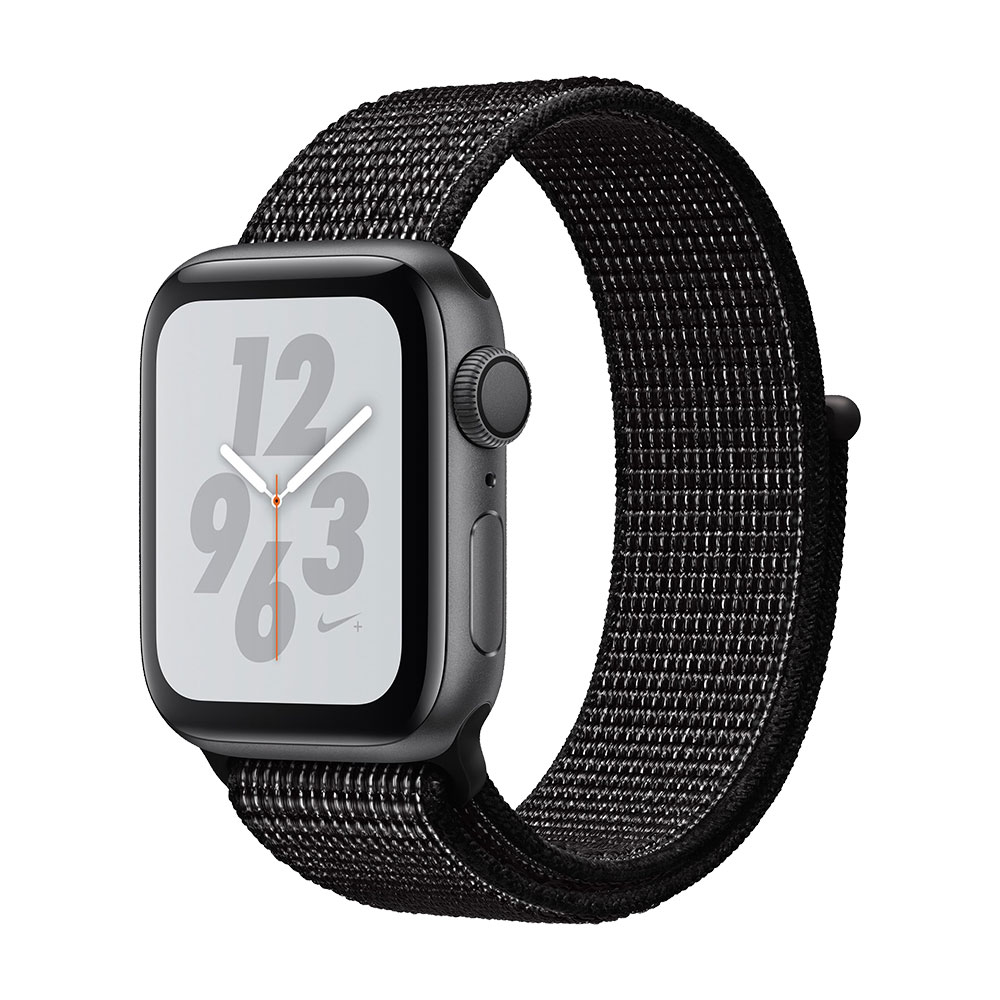Apple Watch Series 4 GPS 40mm Aluminum Case with Nike Sport Loop Space Gray/Black