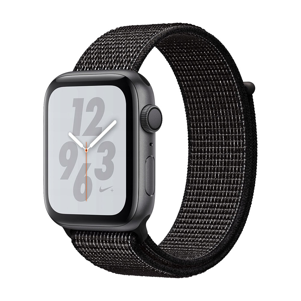 Apple Watch Series 4 GPS 44mm Aluminum Case with Nike Sport Loop Space Gray/Black