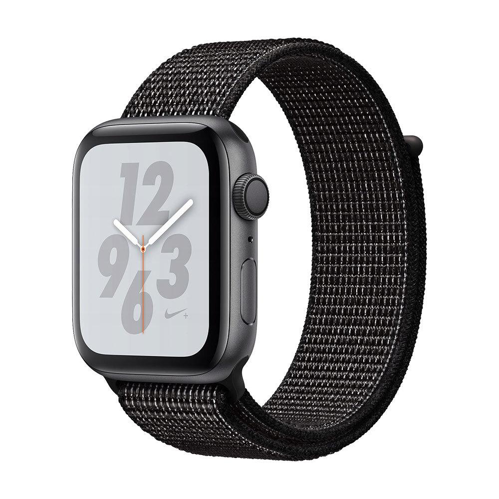 Apple Watch Series 4 GPS 44mm Aluminum Case with Nike Sport Loop Space Gray/Black