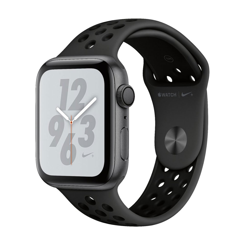 Apple Watch Series 4 GPS 44mm Aluminum Case with Nike Sport Band Space Gray/Anthracite/Black