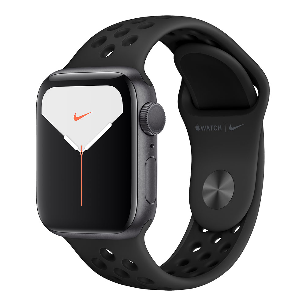 Apple Watch Series 5 GPS 40mm Aluminum Case with Nike Sport Band Space Gray/Anthracite/Black