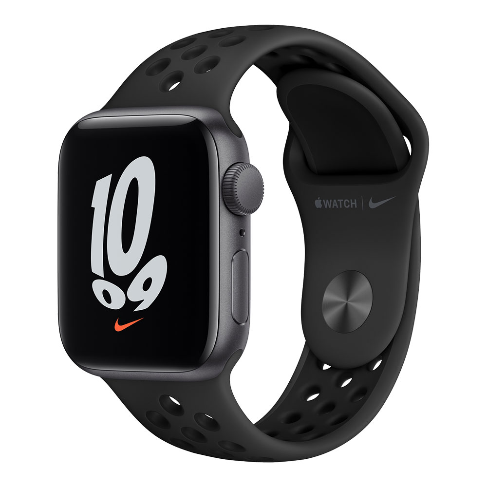Apple Watch Nike SE GPS 40mm Space Gray Aluminum Case with Anthracite/Black Nike Sport Band