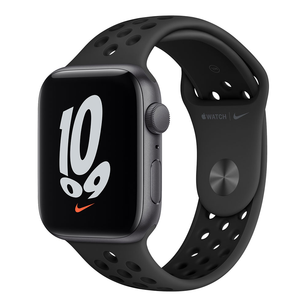 Apple Watch Nike SE GPS 44mm Space Gray Aluminum Case with Anthracite/Black Nike Sport Band