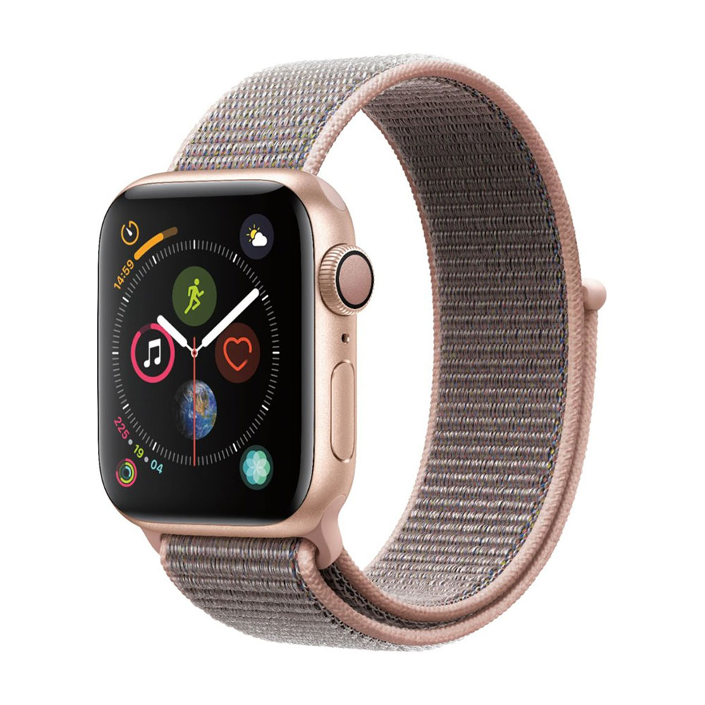 Apple Watch Series 4 GPS 40 mm Gold Aluminum Case with Pink Sand Sport LOOP
