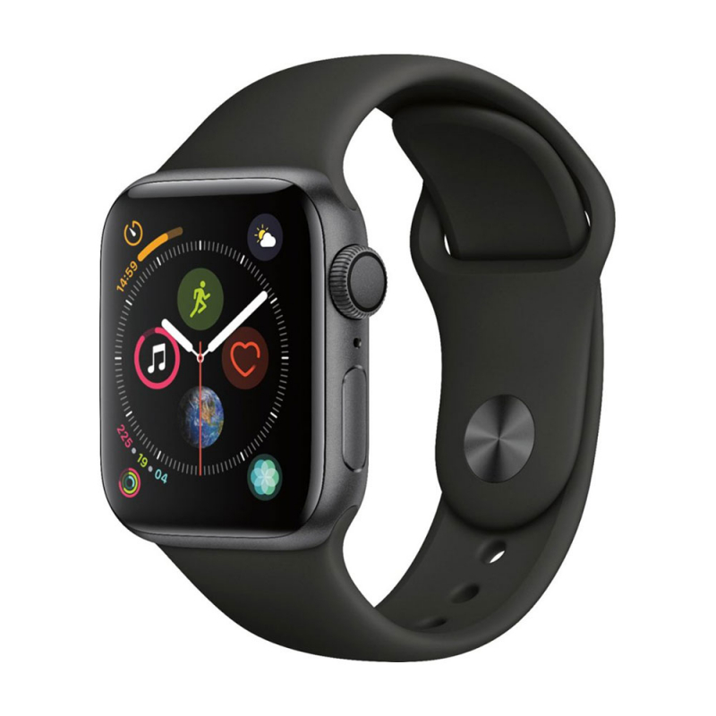 Apple Watch Series 4 GPS 40 mm Space Gray Aluminum Case with Black Sport Band
