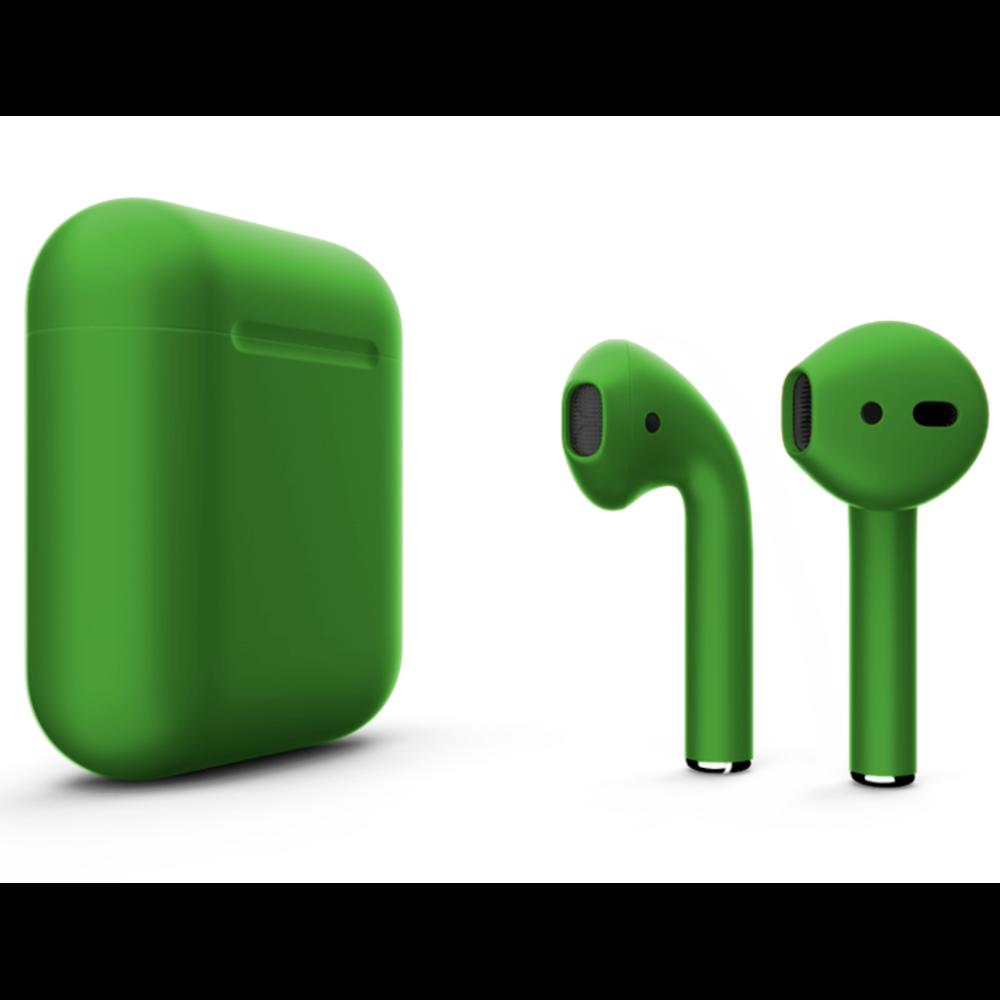 Беспроводные наушники Apple AirPods 2 Color (без беспроводной зарядки чехла) Green Matte