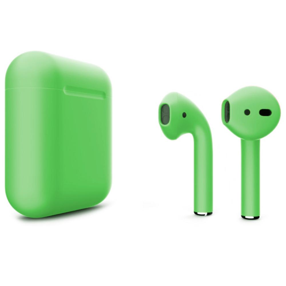 Беспроводные наушники Apple AirPods 2 Color (без беспроводной зарядки чехла) Light Green Matte