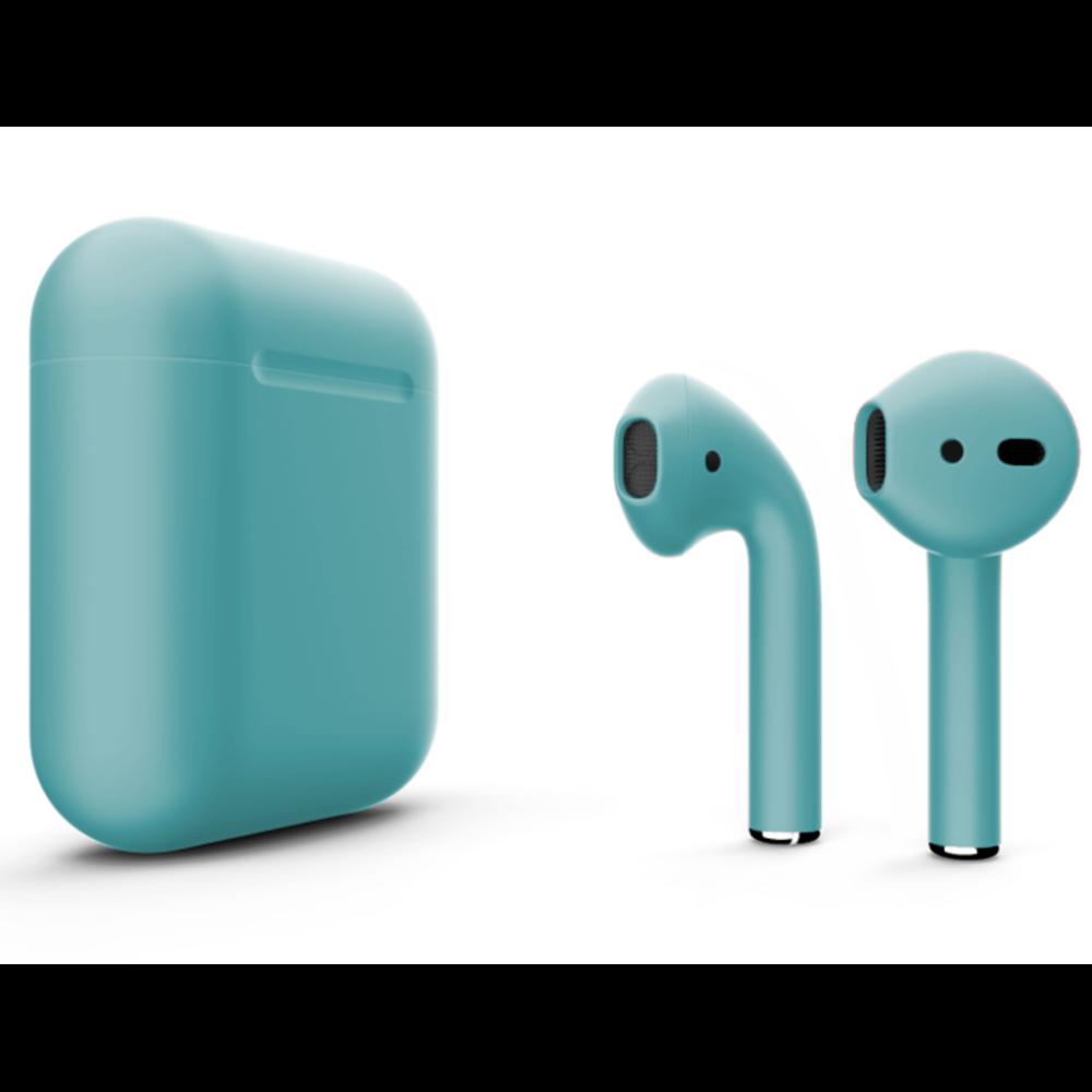Беспроводные наушники Apple AirPods 2 Color (без беспроводной зарядки чехла) Lazur Matte