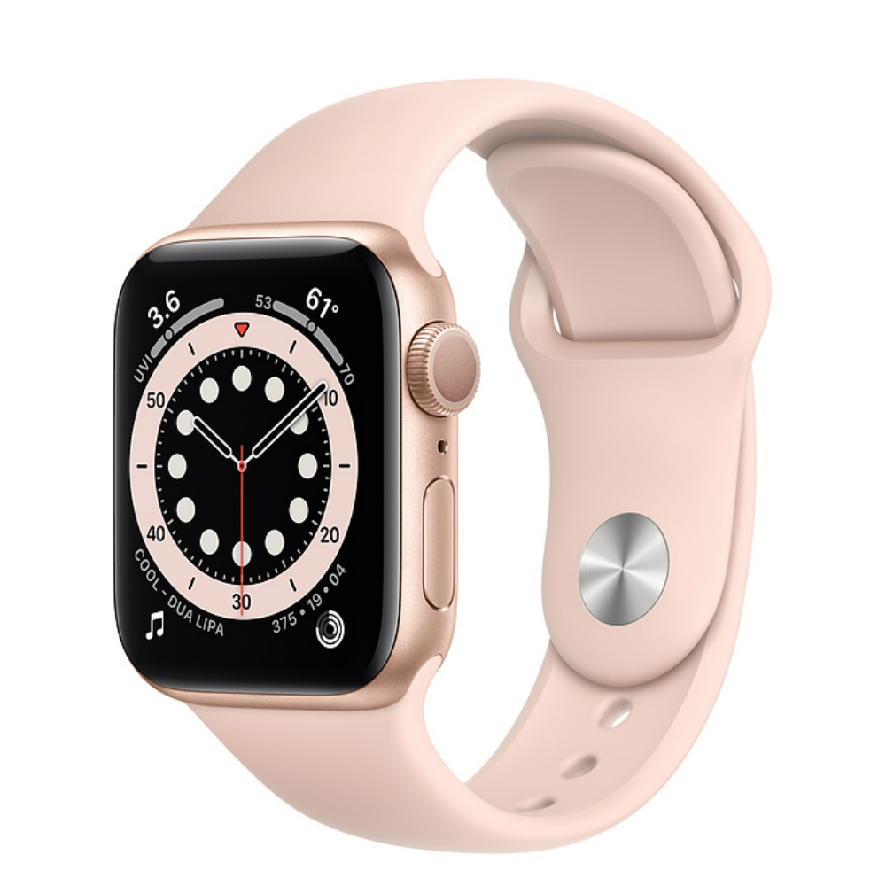 Apple Watch Series 6 GPS 40mm Aluminum Case with Sport Band Золотистый/розовый песок