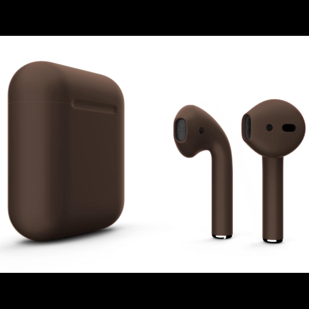 Беспроводные наушники Apple AirPods 2 Color (без беспроводной зарядки чехла) Brown Matte