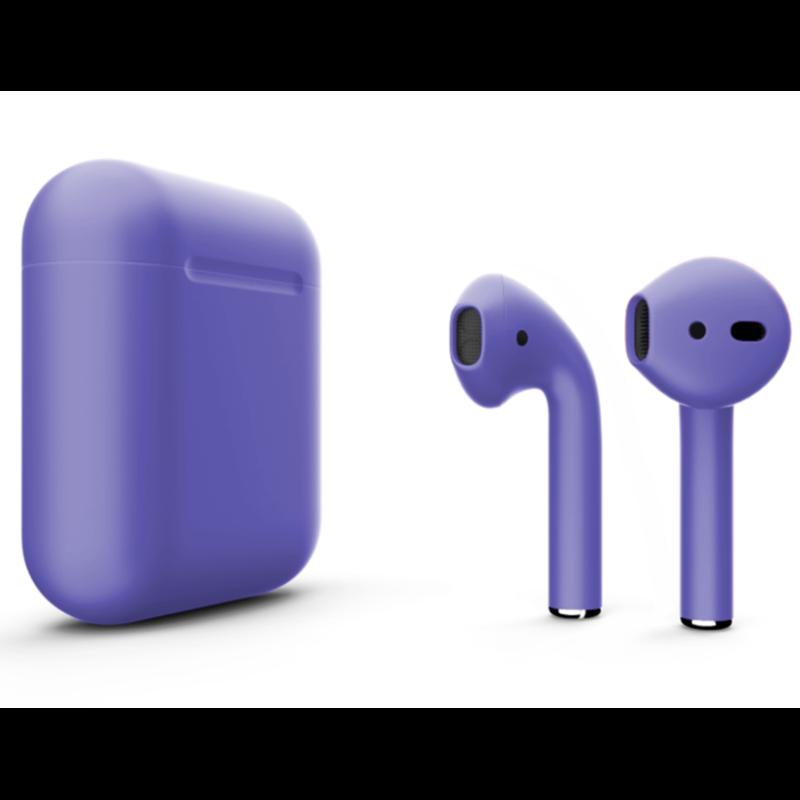 Беспроводные наушники Apple AirPods 2 Color (без беспроводной зарядки чехла) Purple Matte