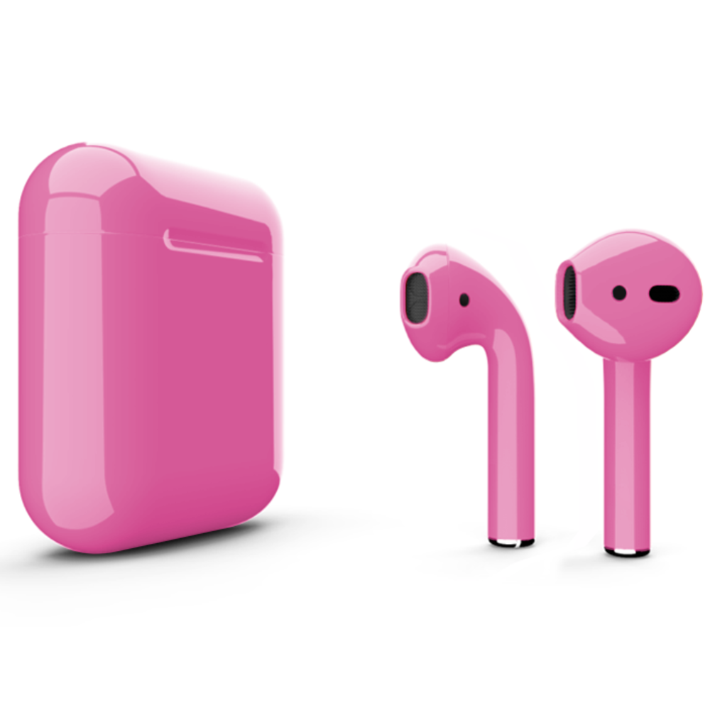 Беспроводные наушники Apple AirPods 2 Color (без беспроводной зарядки чехла) Pink Glossy