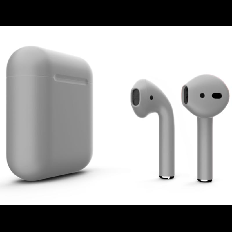Беспроводные наушники Apple AirPods 2 Color (без беспроводной зарядки чехла) Gray Matte