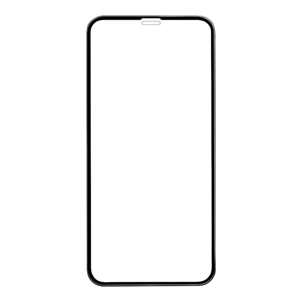 Защитное стекло для iPhone Xs Max 6D, чёрное