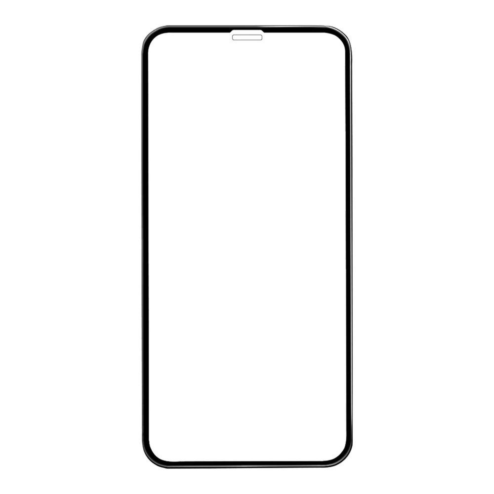 Защитное стекло для iPhone Xr 6D, чёрное