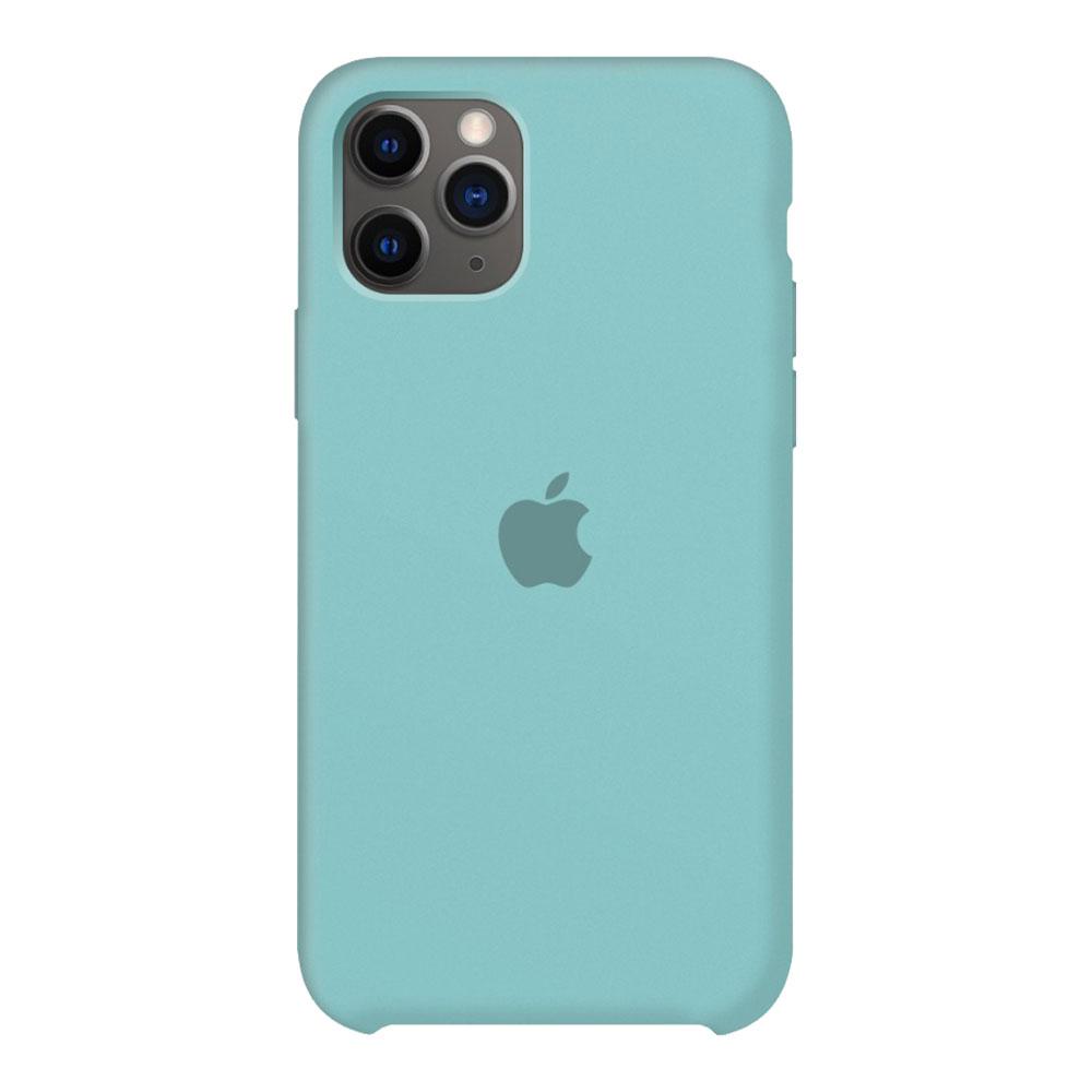 Силиконовый чехол для iPhone 11 Pro, мятный