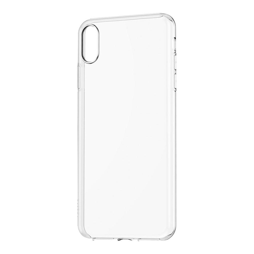 Силиконовый чехол для iPhone Xs Max, прозрачный
