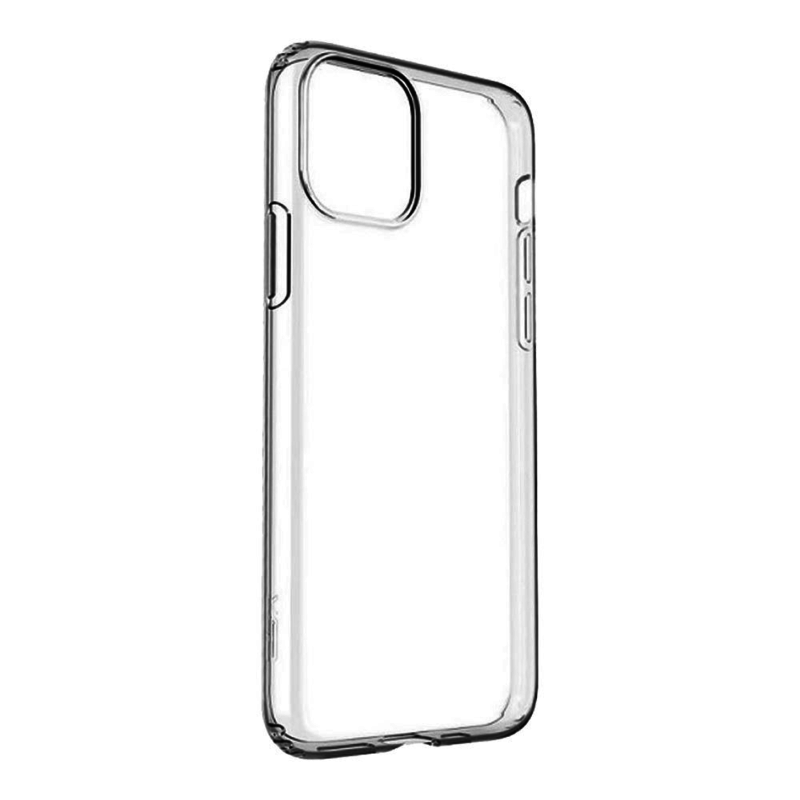 Силиконовый чехол для iPhone 12 Pro Max, прозрачный