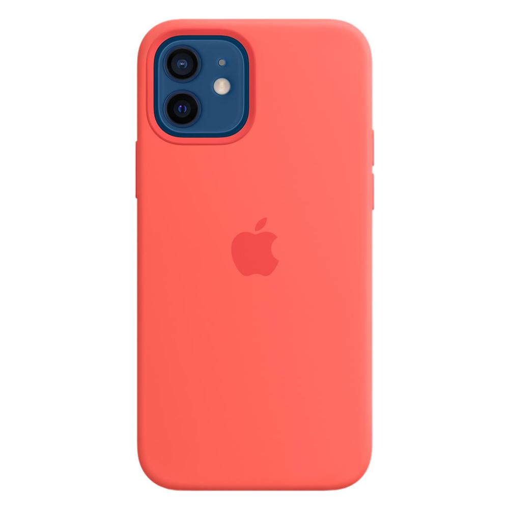 Силиконовый чехол Apple MagSafe для iPhone 12/12 Pro 2020 Pink Citrus
