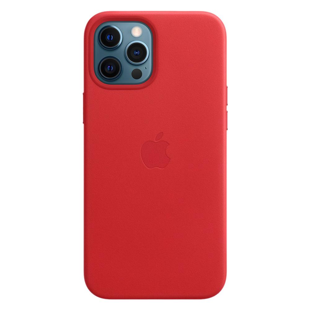 Кожаный чехол Apple MagSafe для iPhone 12 Pro Max 2020 (PRODUCT)RED