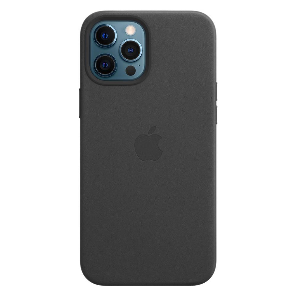 Кожаный чехол Apple MagSafe для iPhone 12 Pro Max 2020 Black