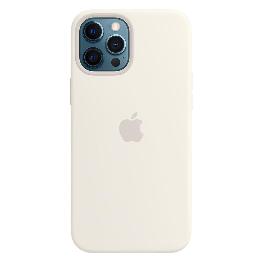 Силиконовый чехол Apple MagSafe для iPhone 12 Pro Max 2020 White