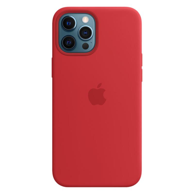 Силиконовый чехол Apple MagSafe для iPhone 12 Pro Max 2020 (PRODUCT)RED